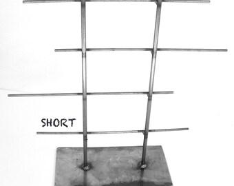 SHORT Natural Metal Jewelry Rack by grafix