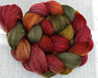 """BFL Combed Top 4Oz.  """"Autumn in New Hampshire"""""""