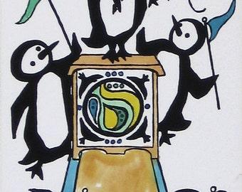 Emperor Penguin by Barbara Fernekes Hughes