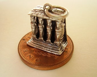 Sterling Silver PORCH of MAIDENS Greece Charm