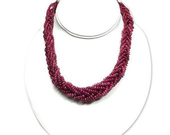 genuine ruby jewelry ruby necklace