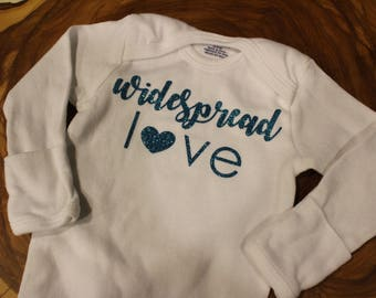 Widespread Love Onesie