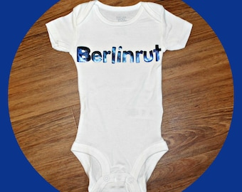 Personalized Name Onesie (Single Onesie)