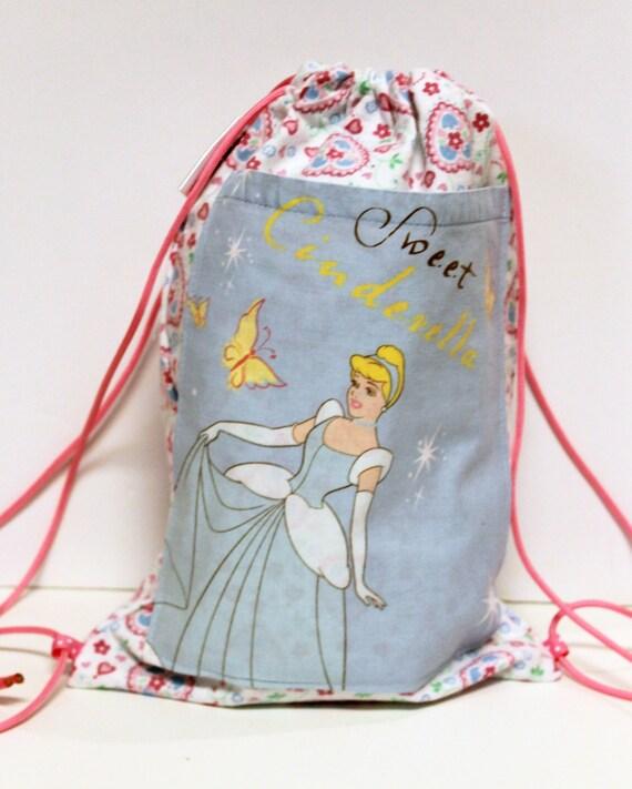 Disney Cinderella Child's Drawstring Backpack