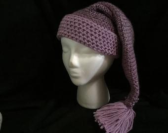 Purple and lilac Night Cap