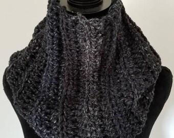 10.00 OFF Infinity Scarf - Outlander Inspired Scarf, Chunky Scarf, Cowl Scarf, Claire Infinity Scarf, Scarves for Women, Crochet Handmade, C