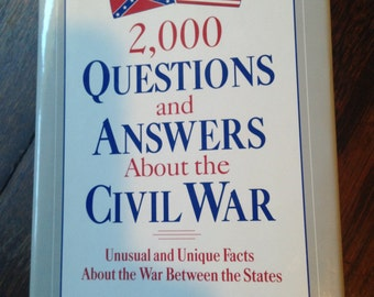 CIVIL WAR Hardcover 2000 Questions & Answers.  W.Garrison