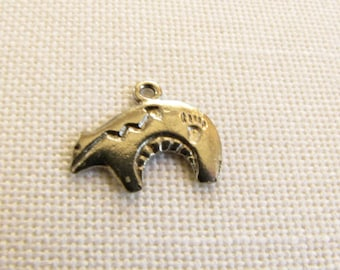 Zuni Bear Native American Charm  Necklace, Bracelet  earring jewelry Supply