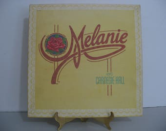 Melanie - At Carnegie Hall - Double Album Set - Circa 1973