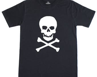 Skull & Crossbones Pirate Fancy Dress Mens T-Shirt
