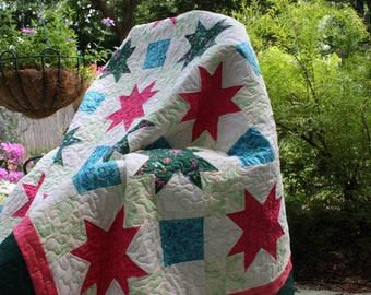 Queen size Spring quilt , Handmade Queen Quilt, Home made Queen Quilts, Hand-made Quilts, Home made Quilt, Hand made Queen  Quilted Blanket