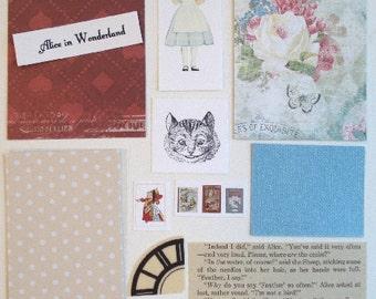 Artist Trading Card Kit Alice in Wonderland