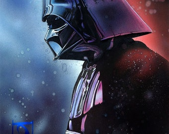 DARTH VADER (Limited Edition Giclee Print)