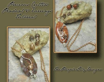 Precious Critters Tutorial, PurpleLily Designs by Joanne Ortiz