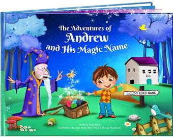 Libro infantil personalizada - única para regalos de cumpleaños de cada niño - libros de los niños - para niños - libro Personal - recuerdo para los niños y las niñas