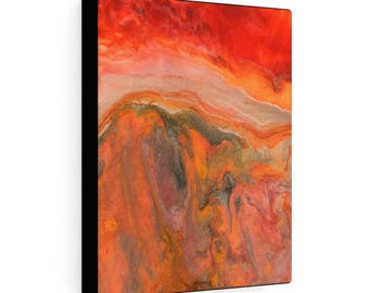 """Gallery Wraps Canvas """"Fire Stone #1"""""""