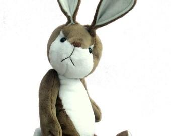 Fennel soft toy rabbit digital sewing pattern