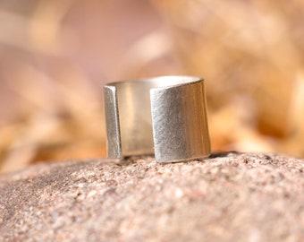 Sterling Silver Cuff Ring