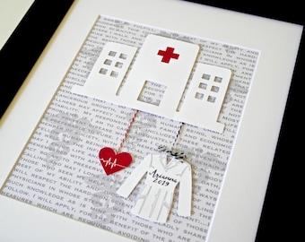 Unique Christmas Gift For Doctor, Graduation Gift For Med Student, Doctor Present, Med School Gift, New Doctor Present Med School Graduation