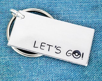 Let's Go! Keychain