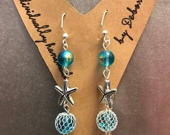 Handmade in Alaska Fishnet Earrings