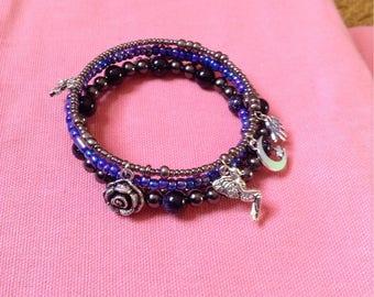 Fantasy Faerie Beaded Bracelet
