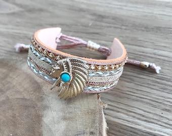 Chief head Cuff Bracelet