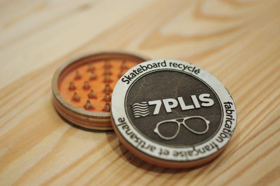 7PLIS Recycled Skateboard Grinder