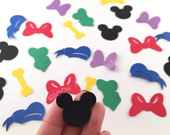 Mickey Mouse Clubhouse Confetti, Mickey Mouse Confetti, Mickey Mouse Clubhouse