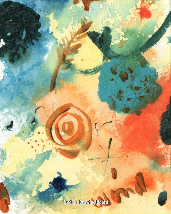 Art Prints, Wind Art, Abstract Art, Abstract Painting, Colorful Wall Art, Colorful Art, Colorful Painting, Colorful Prints, Abstract Print