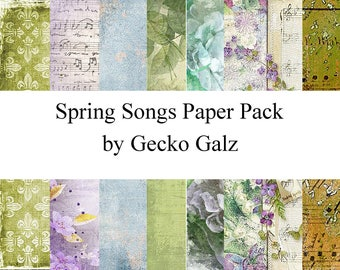 Spring Song Mini Paper Pack