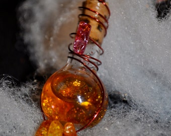 Drops of Jupiter Bottle Charm and Necklace (Song Series)