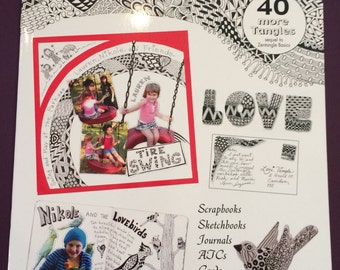 SALE Zentangle Book 2 with 40 tangles was 8.95 now 6.50