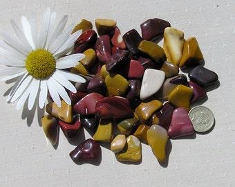 12 Mookaite Jasper Crystal Tumblestones, Chakra Crystals, Crystal Collection, Jasper Crystals, Meditation Stone, Aries, Energy Crystals