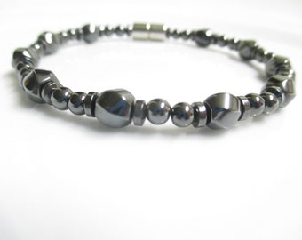 Magnetite Bracelet, Therapy Bracelet, Magnetic Hematite Bracelet