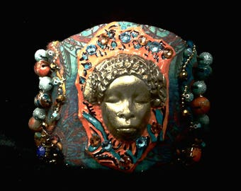 Queen of Sheba Cuff Bracelet