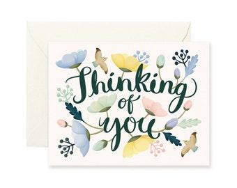 Poppy Thinking of You Card