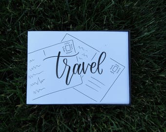 Travel   Postcards   Handwritten Calligraphy Prints   Custom Quotes   Wall Art   Home Decor   Gifts