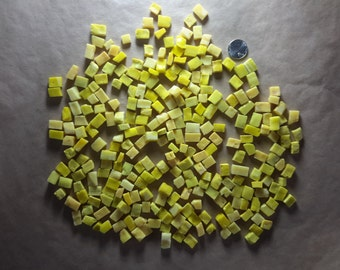 Reclaimed Smalti in 7-color yellow mix . . . DEAL!