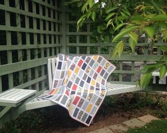 Lap Quilt Modern Colours