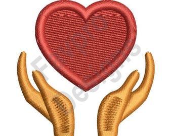 Giving Love - Machine Embroidery Design