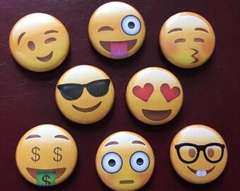 Emoji Magnets (Set of 8)