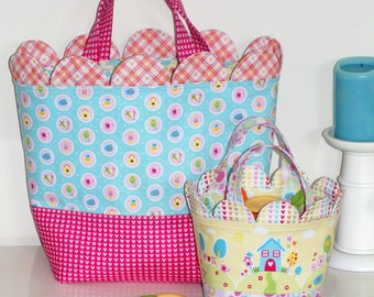Sweet Scallops Gift Bag and Basket Pattern
