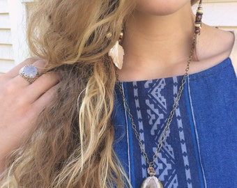 agate necklace, clay necklace,stone necklace, chain necklace , charm necklace, minimalist necklace, natural necklace , peach agate, Zasra