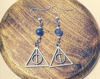 Little druzy earrings