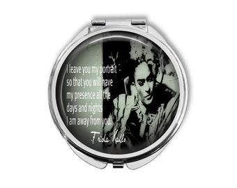 Frida Kahlo Compact Mirror Pocket Mirror Large