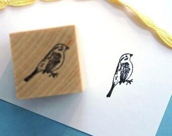 Kingbird Rubber Stamp