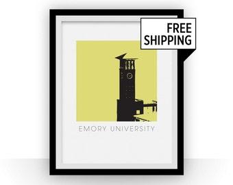 Emory University Art Poster