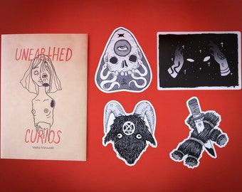 Unearthed Curios-Sticker set
