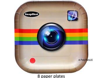 social media party plates, graduation ideas, cyber school, internet theme, tweens, teens birthday ideas, paper tableware, e-commerce, online